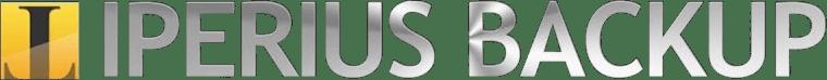 Iperius Backup, logo, sauvegardes